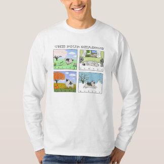Keeshond - The Four Seasons T-Shirt