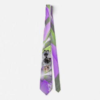 Keeshonden Tie