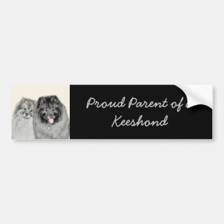 Keeshonds Bumper Sticker