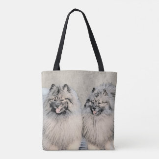 Keeshonds Tote Bag