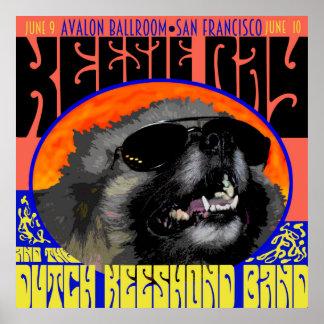 """Keesie Ray, Live at Avalon Ballroom"" Posters"