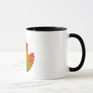 Keesling Leaf Ad Mug