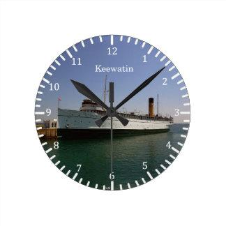 Keewatin clock
