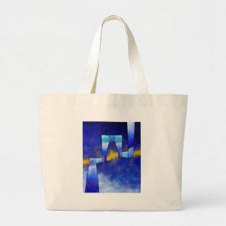 Kefharia V1 - cubic vision Large Tote Bag
