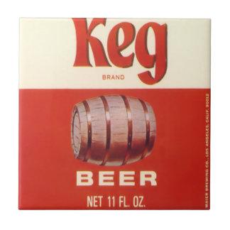 Keg Beer Tile