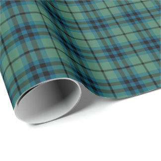 Keith Clan Ancient Tartan Wrapping Paper