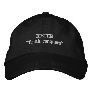 Keith Clan Motto Embroidered Hat