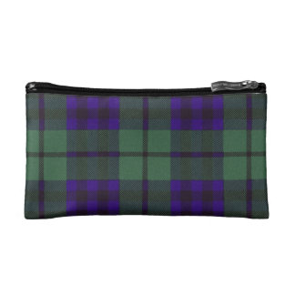 Keith clan Plaid Scottish tartan Makeup Bag
