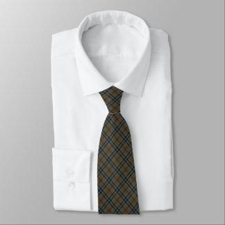 Keith Clan Reproduction Tartan Brown Plaid Tie