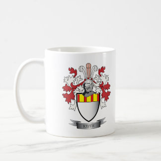 Keith Family Crest Coat of Arms Coffee Mug