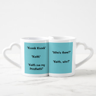 Keith Knock Knock Pun Mug