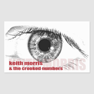 Keith Morris & the Crooked Numbers stickers
