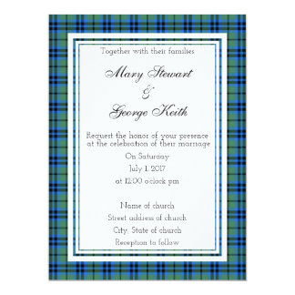 Keith Scottish Wedding Invitation