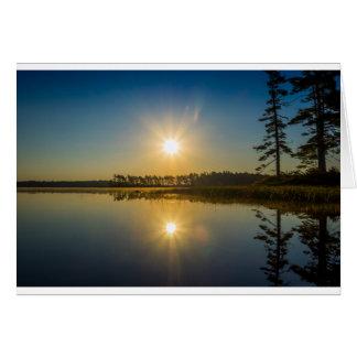 Kejimkujik Dawn Card