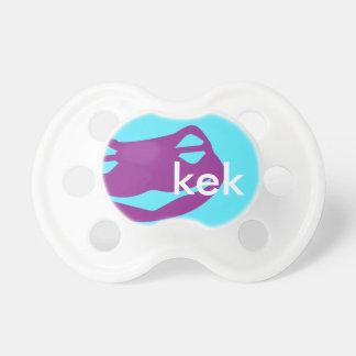 Kek Frog BooginHead® Pacifier Purple Custom Color