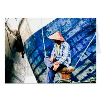 Kelapa Gading, Indonésie Carte De Correspondance