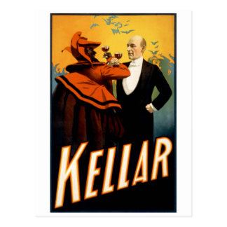 Kellar - Drinks with the Devil Postcard
