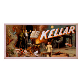 Kellar in a Room Full of Magic Poster
