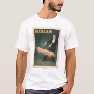 Kellar Levitation Magic Poster #1 T-Shirt