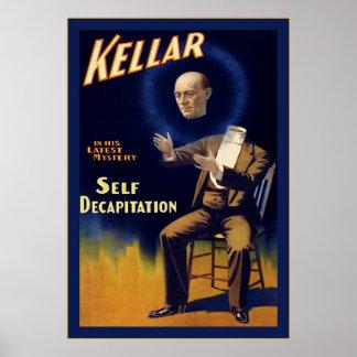 Kellar ~ Vintage Magician Poster