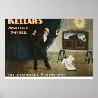 Kellar's startling wonder poster