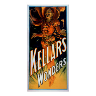Kellar's Wonders Dressed like Devil Magic Poster