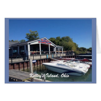 Kelley's Island, Ohio Marina Photo Greeting Card