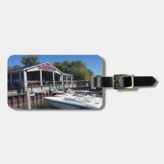 Kelley's Island, Ohio Marina Photo Luggage Tag