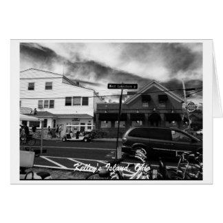 Kelley's Island, Ohio Street Photo Greeting Card