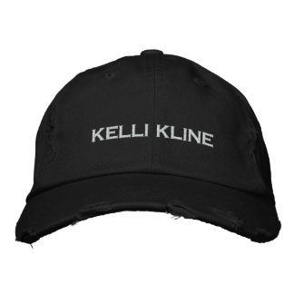 KELLI KLINE Distressed Baseball Hat