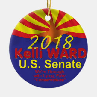 Kelli WARD AZ 2018 Ceramic Ornament