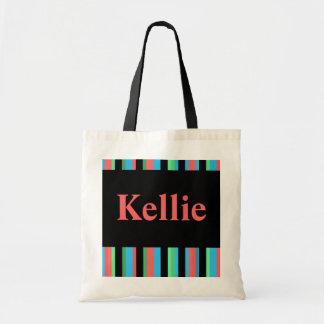 Kellie Pretty Striped Tote Bag