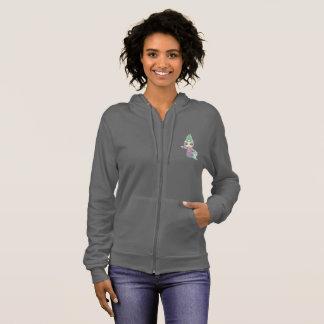 Kellpi Women's Zip Up Hooded Sweater