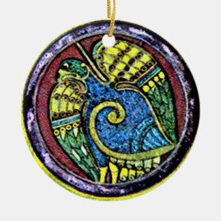 Kells Celtic Bird, Irish Christmas Ornaments