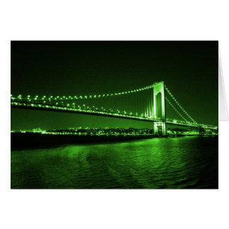 Kelly Green Bridge card