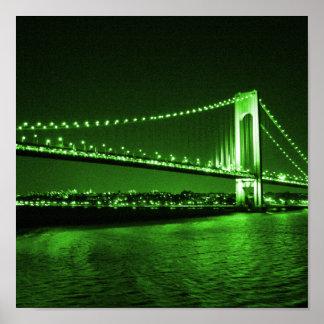 Kelly Green Bridge print