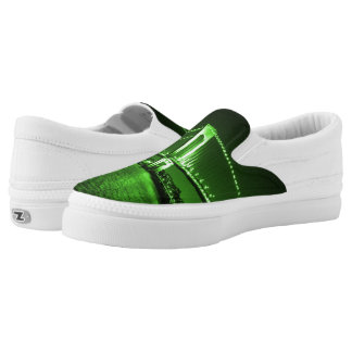 Kelly Green Bridge Z slipons Slip-On Sneakers