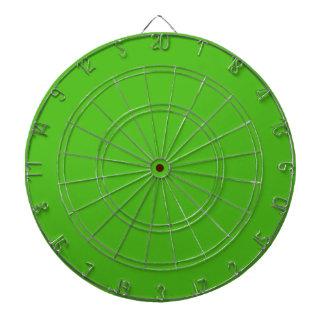 Kelly Green Designer Monochromatic Dartboard