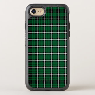 Kelly green Irish green white/black stripe OtterBox Symmetry iPhone 8/7 Case