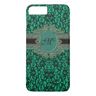 Kelly Green Irish Lace Monogram iPhone 7 Plus Case