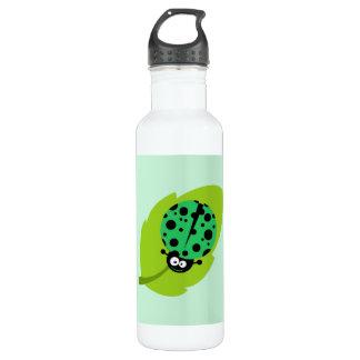 Kelly Green Ladybug 710 Ml Water Bottle