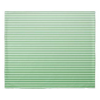 Kelly Green Ombre Stripe Duvet Cover