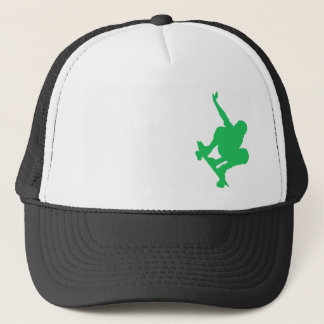 Kelly Green Skater Trucker Hat