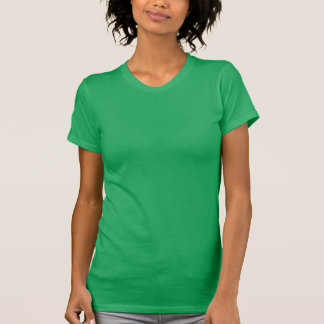 Kelly GREEN : Women's Poly-Cotton Scoop Neck Shirt