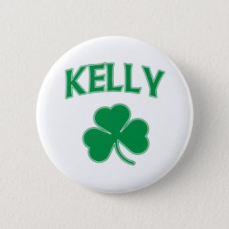 Kelly Irish 2 Inch Round Button