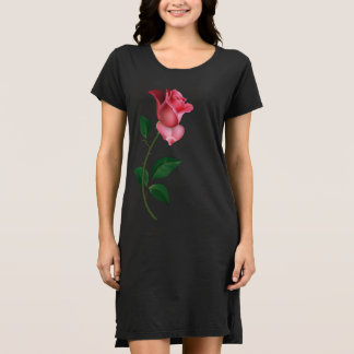 Kelly Jean Rose - Pink Rose Jersey Dress(ladies) Dress