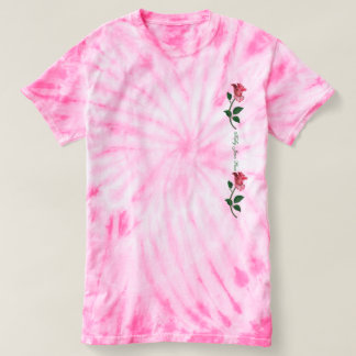 Kelly Jean Rose - Pink Tie Dye T-Shirt (ladies)