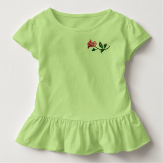 Kelly Jean Rose Ruffled T-Shirt (Green)