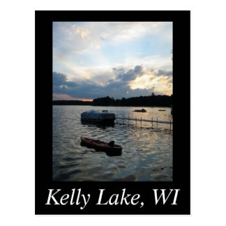 Kelly Lake Postcard