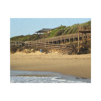 Kelly's Beach, Port Alfred, South Africa Canvas Print
